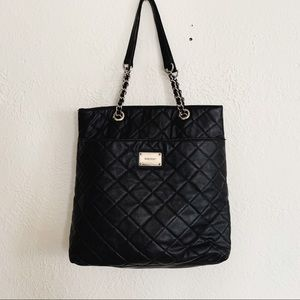 Nine West Quilted Tote Purse